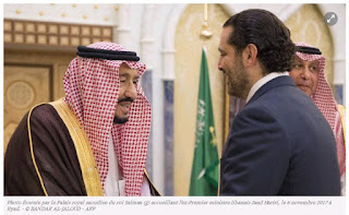 """Former"" Lebanese PM Hariri returns to Saudi Arabia after visiting UAE"