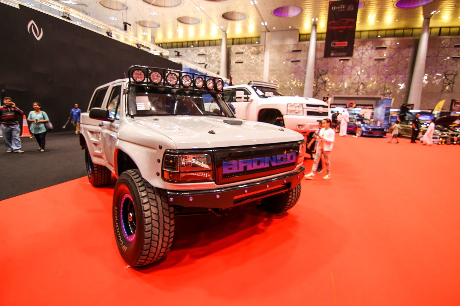 Doing My Frequent Walk Around Al Anabi Performance I Spotted This  Ford Bronco Probably Was Just Sitting Here After A Long Route To Qatar