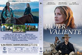 Woman Walks Ahead - Mujer Valiente - cover DVD