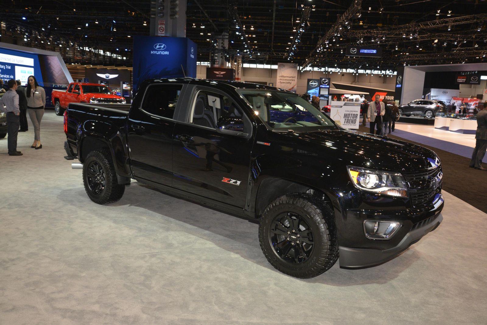 Silverado Special Editions >> Chevrolet's Murdered Out Silverado & Colorado Midnight Specials