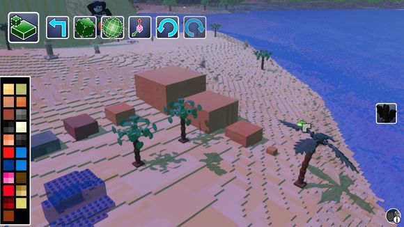 樂高世界 (LEGO Worlds) 工具列作用詳解