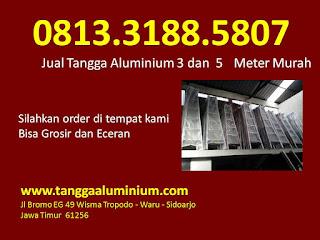 Jual tangga aluminium 3 5 meter murah