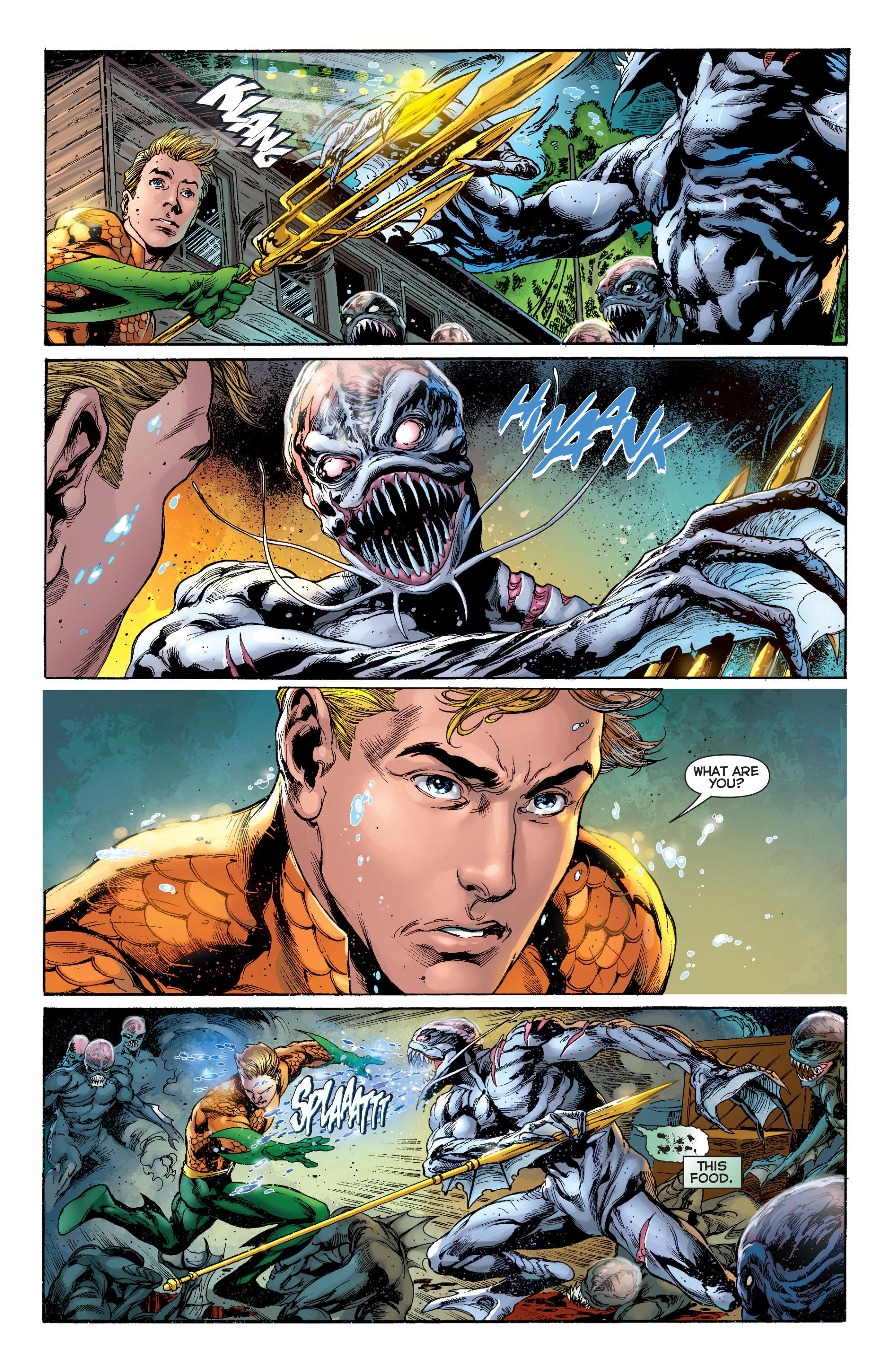 Read online Aquaman (2011) comic -  Issue #2 - 19