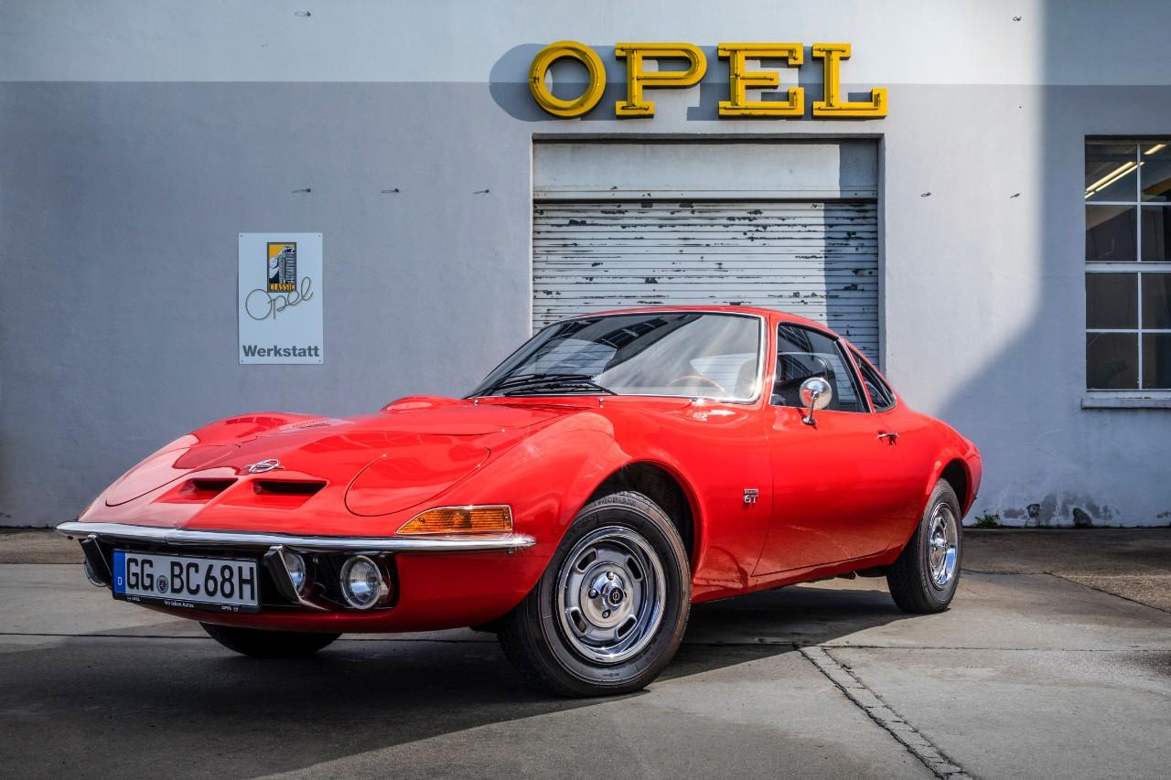 """50 Χρόνια Opel GT: """"Nur Fliegen ist schöner…"""""""