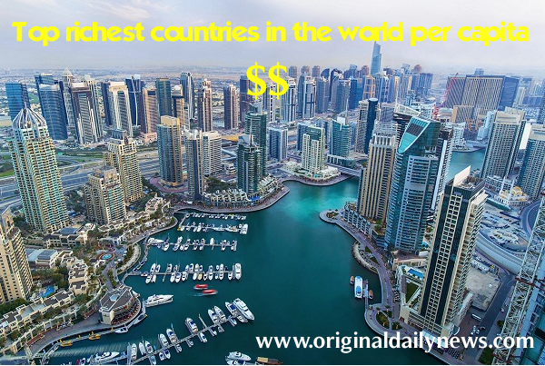 These Are the Richest Countries in the World ( 2018 )
