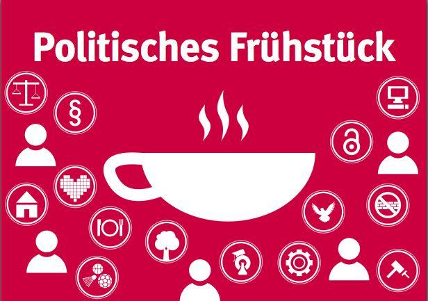 Herzliche Einladung zum politischen Samstagsfrühstück