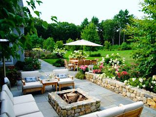 jardin elegante