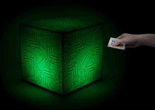 the trek collective another glowing borg cube