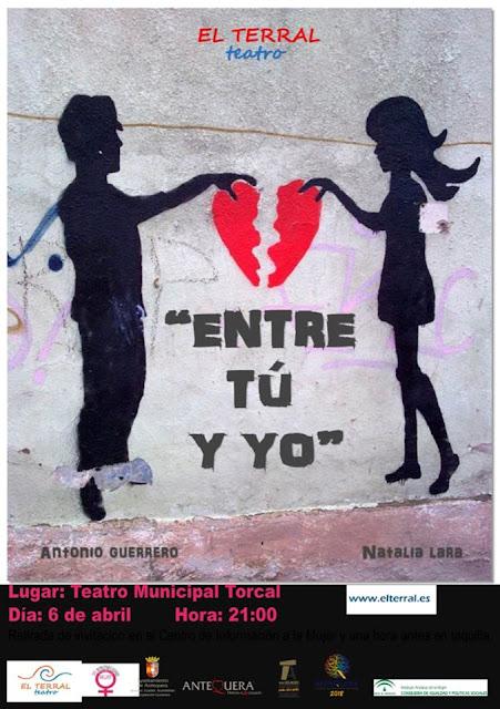 """Teatro """"Entre tu y yo"""" en Antequera"""