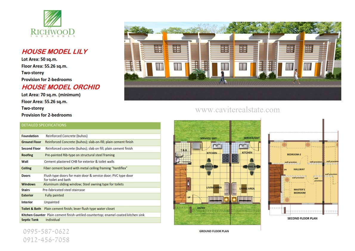 Richwood House Specifications