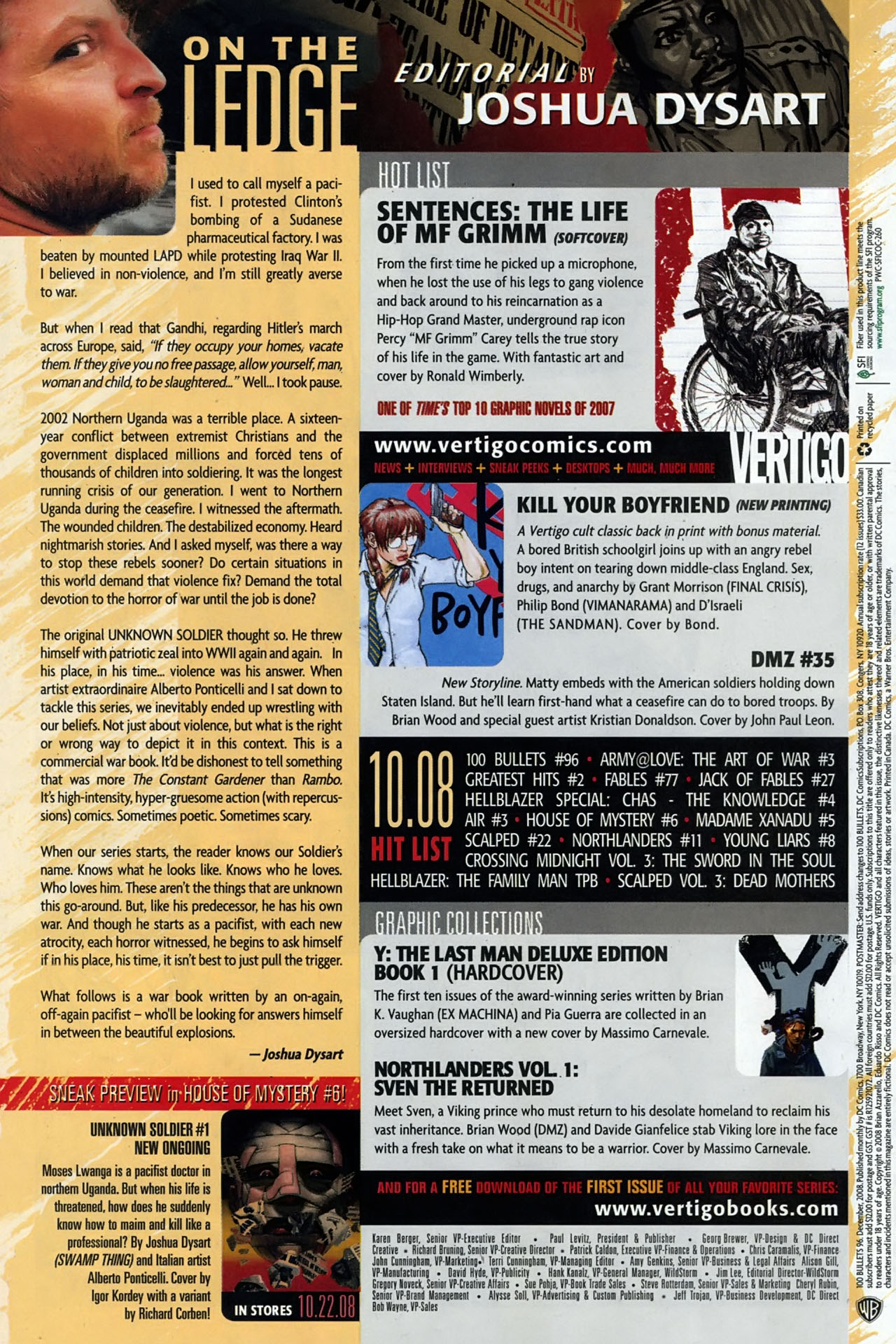 Read online 100 Bullets comic -  Issue #96 - 24