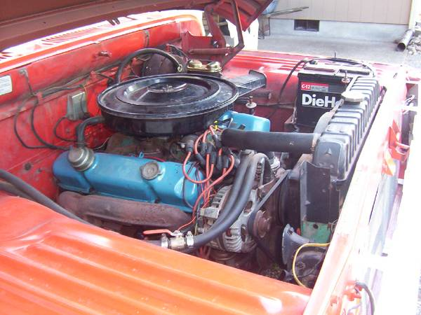1971 Dodge D200 Camper Special Engine