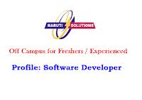 Maruti-Solutions-off-campus