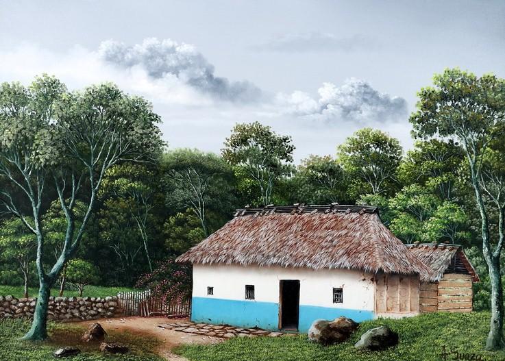 Cuadros modernos pinturas y dibujos cuadros de paisajes - Pintores de viviendas ...