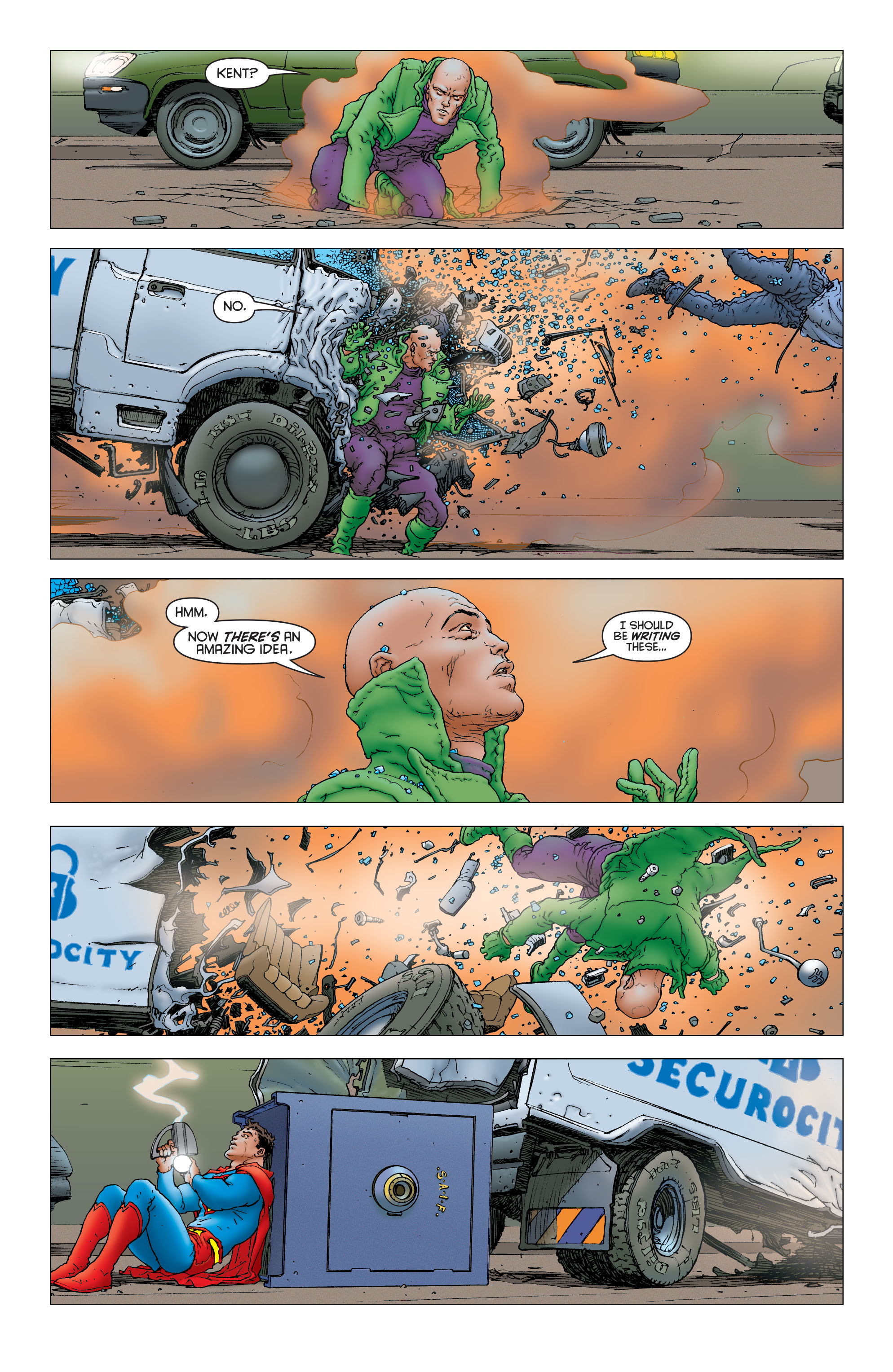 Read online All Star Superman comic -  Issue #12 - 12
