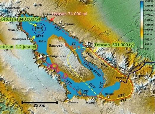 Sejarah Danau Toba berdasarkan Ilmiah