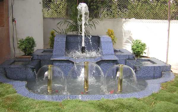 New Home Designs Latest Gardens Fountain Ideas