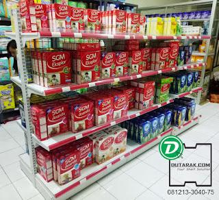 Project Rak Minimarket Toko Susu Jasmine Pasar Kemis Tangerang