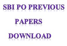 SBI PO Previous Year Question Paper PDF Download