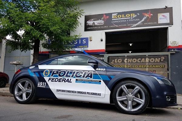 Audi TT Patrullero PFA Argentina
