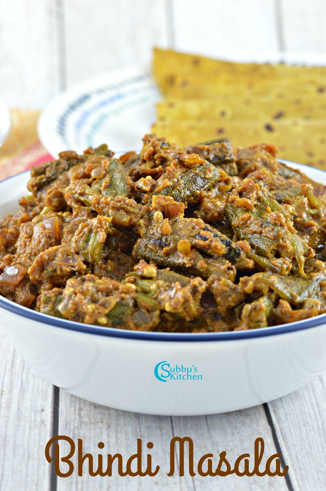 how to prepare bhindi masala gravy