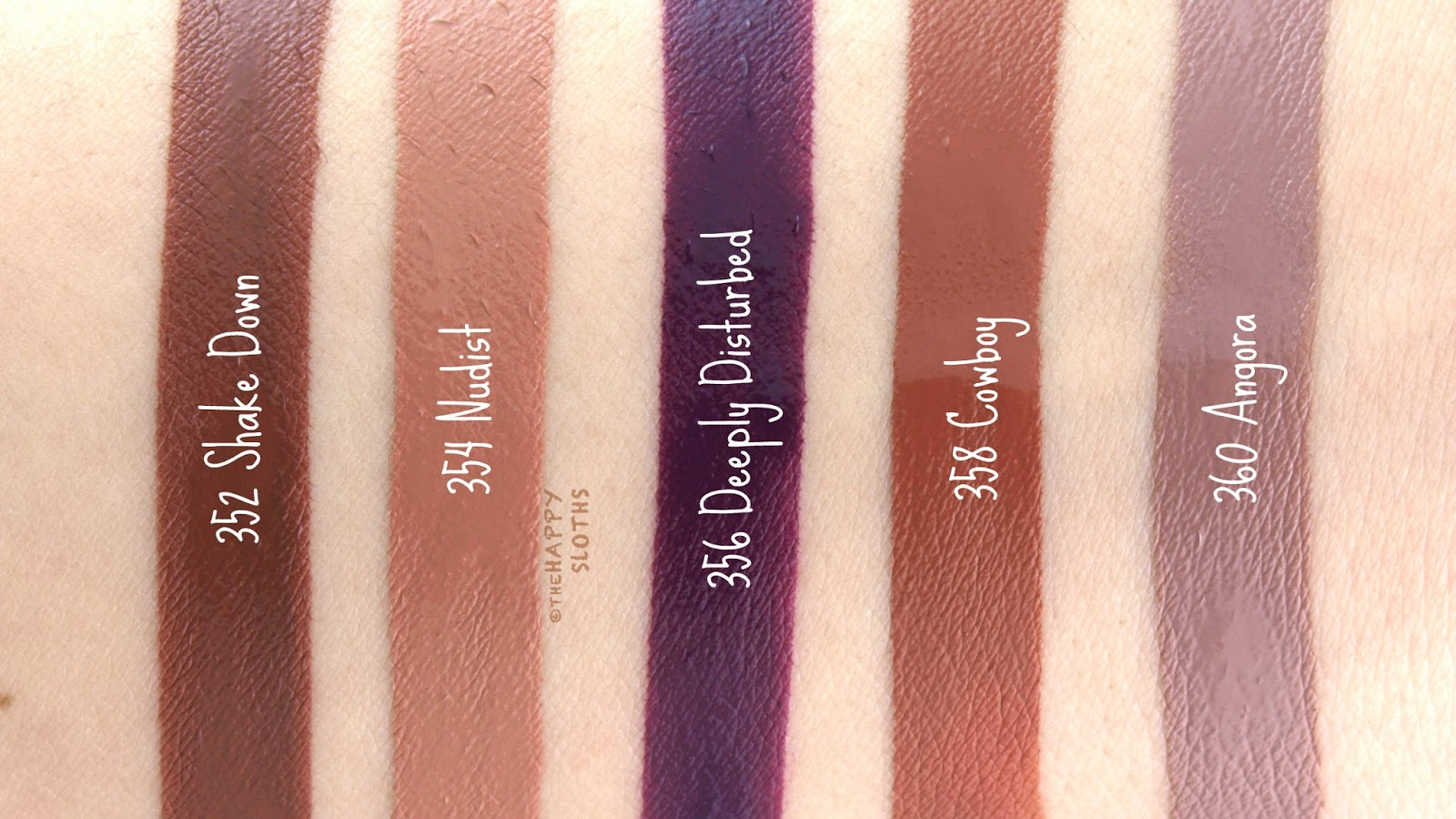 L'Oreal Infallible Pro Matte Liquid Lipsticks: Review and Swatches
