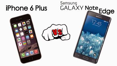 Compare Handphone iPhone 6 Plus Vs Samsung Galaxy Note Edge