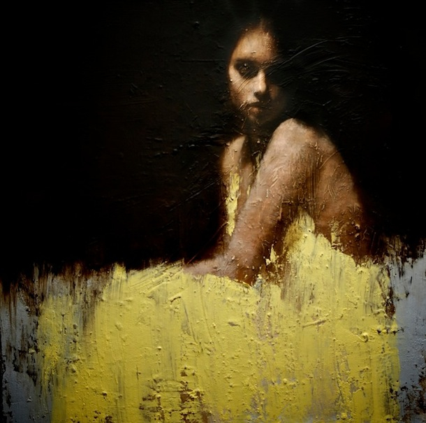 Manchester-based artist Mark Demsteader is known for his take on figurative art, including his series of portraits with actress Emma Watson.