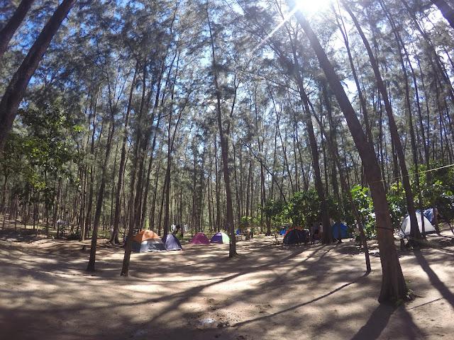 Beaches in the philippines zambales anawangin cove campsite