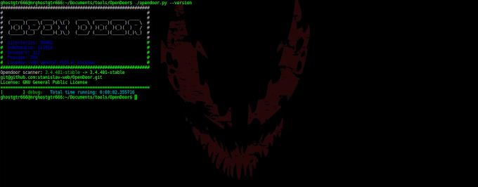"Mengatasi ImportError : ""DependencyWarning"" Opendoor di BackBox GNU/Linux"
