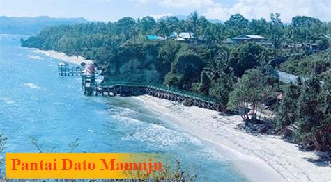 Pesona Pantai Dato Mamuju