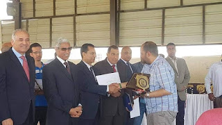 جامعة كفر الشيخ تحصد 4 مركز فى بطولة السرعة على مستوى الجامعات المصرية بالغردقة