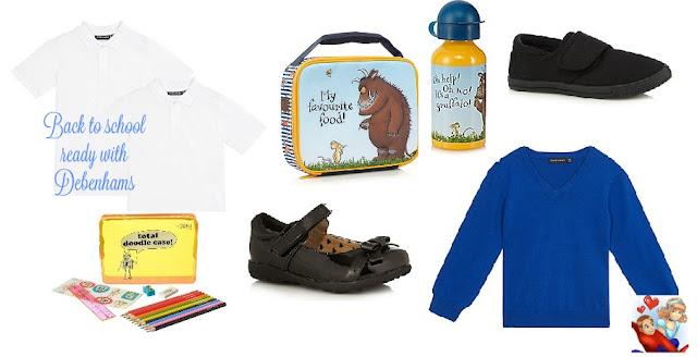 Back to school essentials with Debenhams
