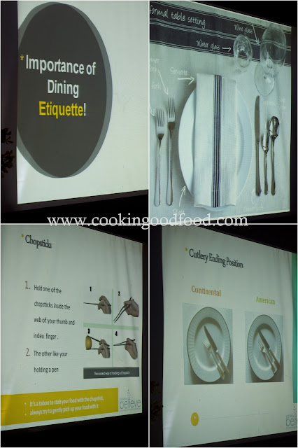 Foodelicious- Dining Etiquettes Review
