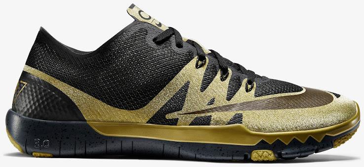 genitore baseball Straniero  Black / Gold Nike Free Trainer Cristiano Ronaldo Shoes Released - Footy  Headlines