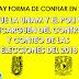 Proponen que la UNAM y el IPN se encarguen del conteo en las elecciones del 2018. ¿Estás de acuerdo?