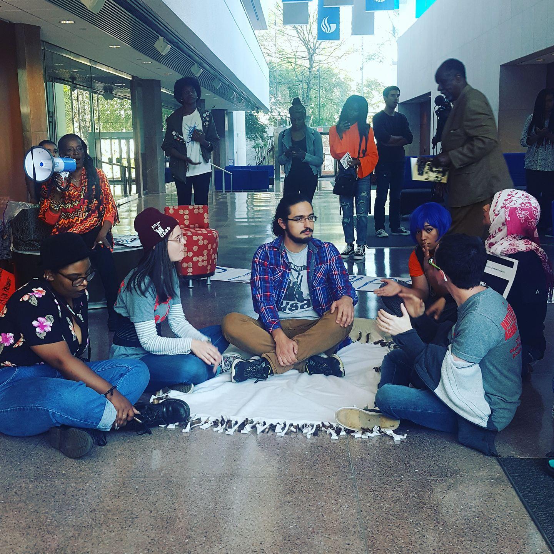 GSU student protest