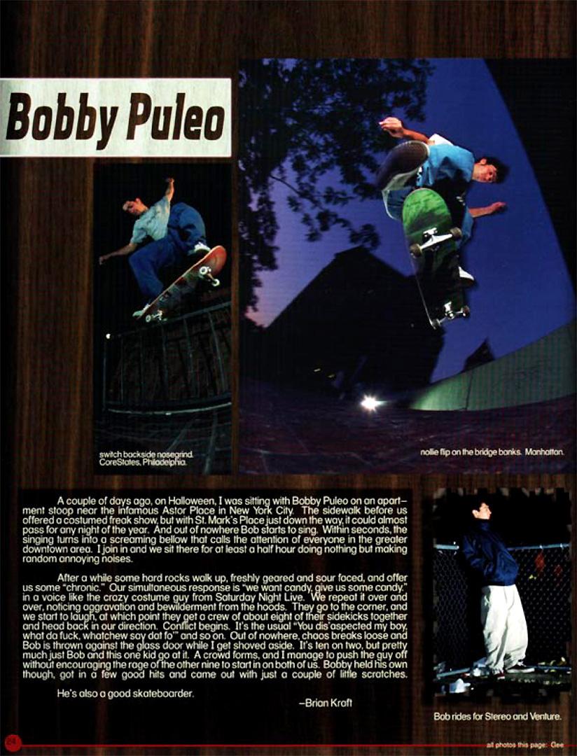 Bobby blake bonks a teen