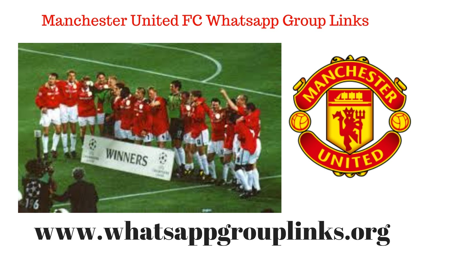 JOIN MANCHESTER UNITED FC WHATSAPP GROUP LINKS LIST