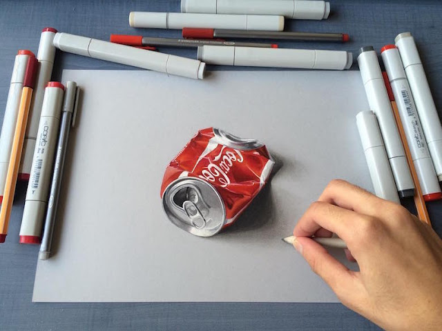 Bandingkan Benda Aslinya dengan Gambar 3D yang Nyaris Sempurna ini