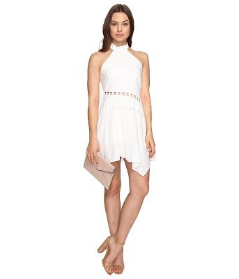 modelos de Vestidos Blancos Cortos