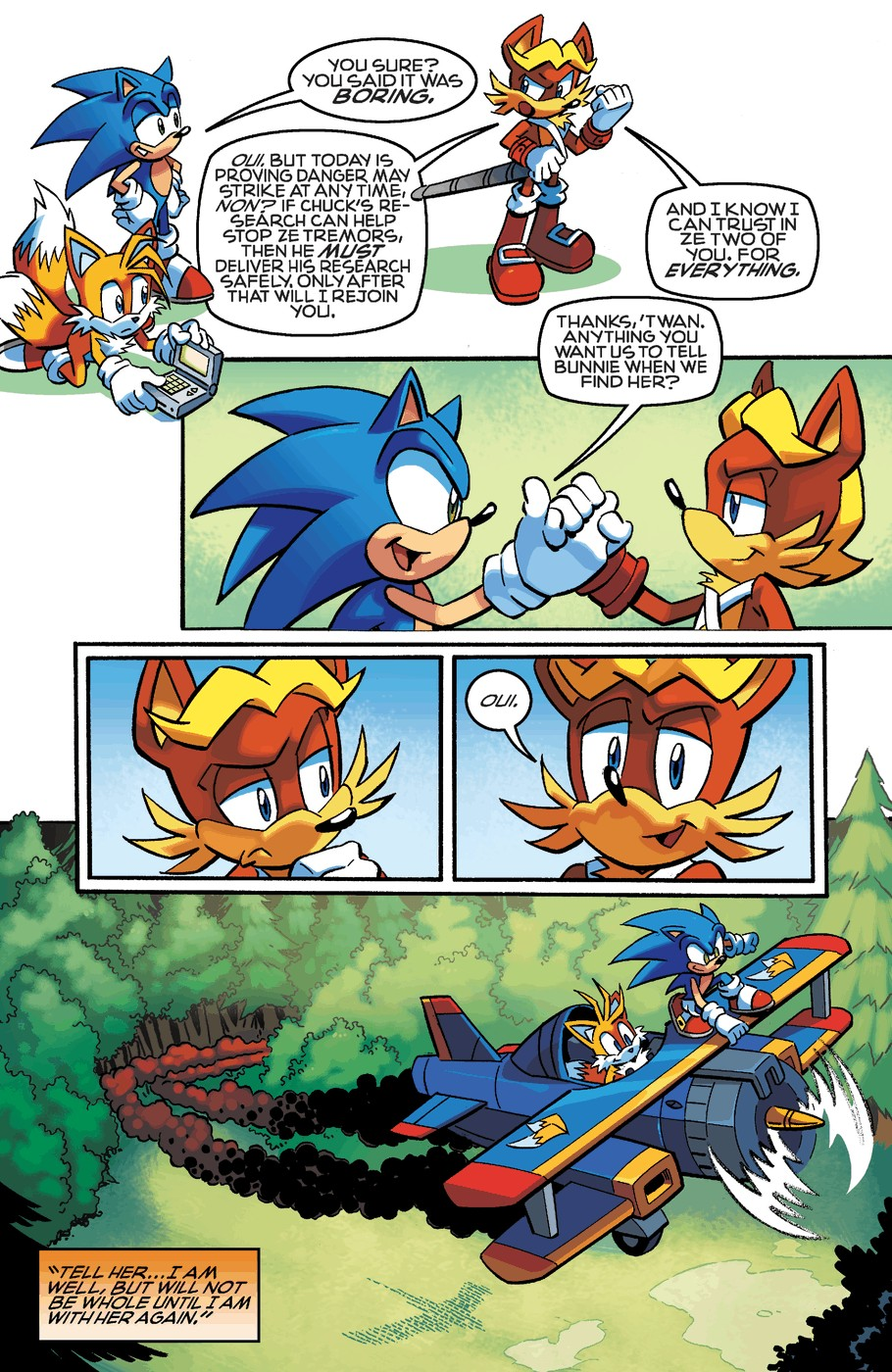 Read online Sonic The Hedgehog comic -  Issue #254 - 21