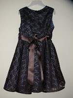 circle dress, birthday, lace, marine