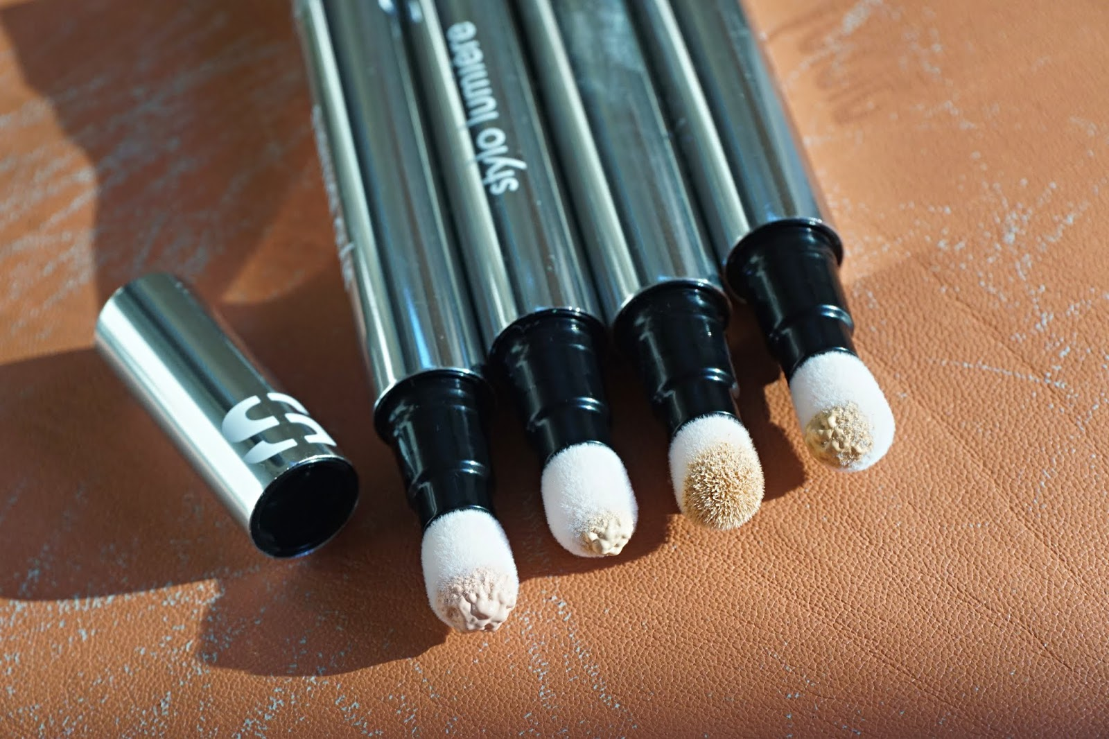 sisley Paris stylo lumiere swatches
