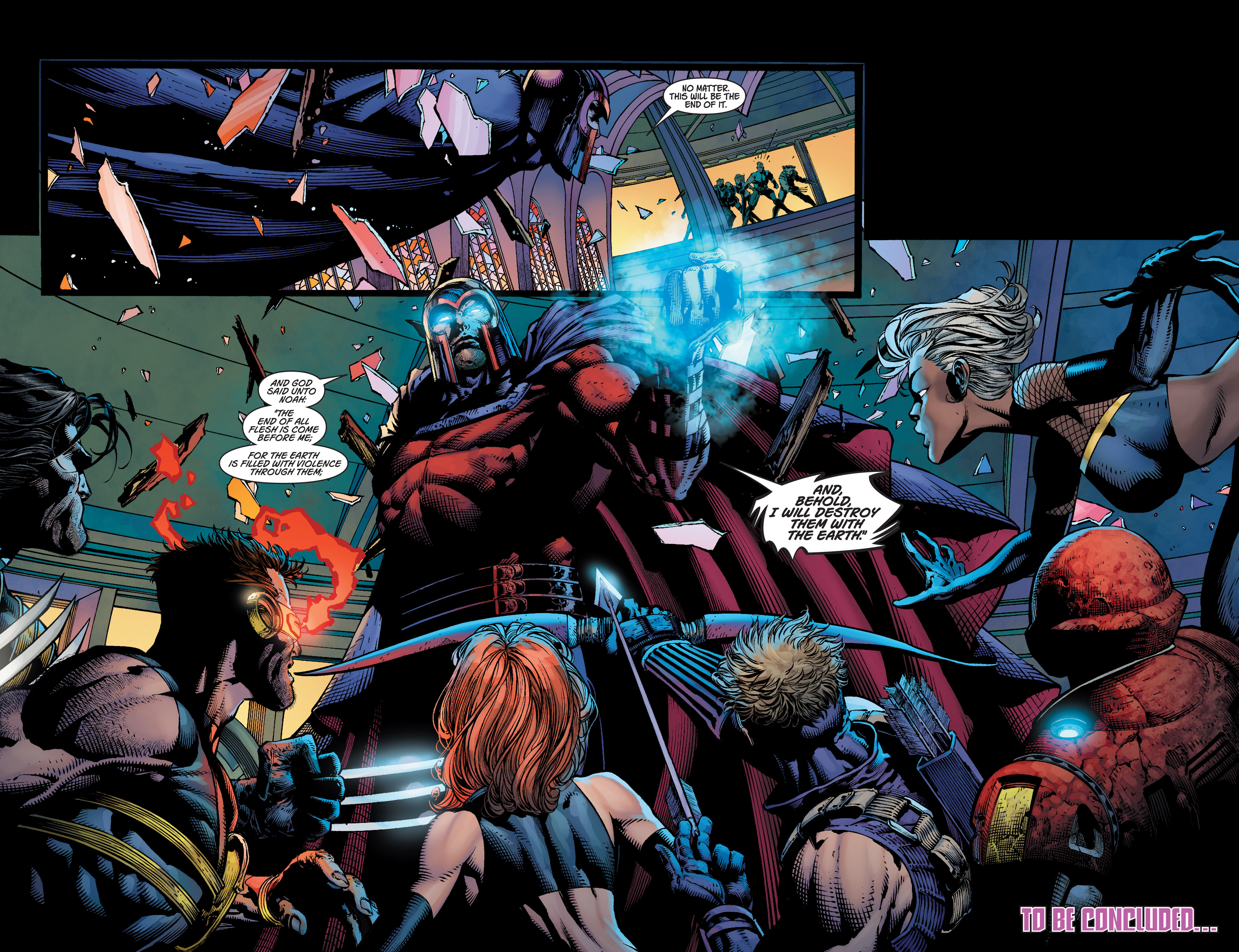 Read online Ultimatum comic -  Issue #4 - 21