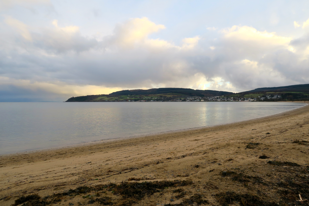 beaches on arran