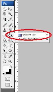 gradien tools photoshop