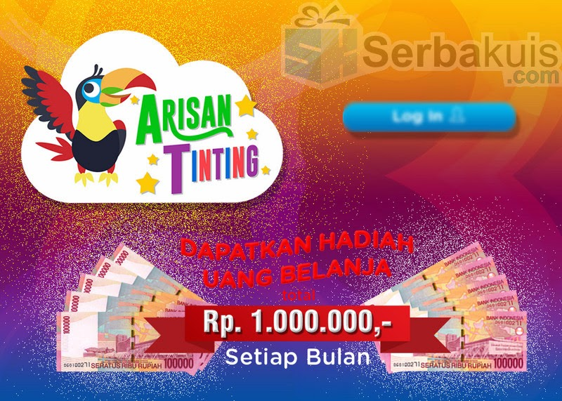 Kuis Arisan TingTing Berhadiah Uang Total 1 Juta / Bulan