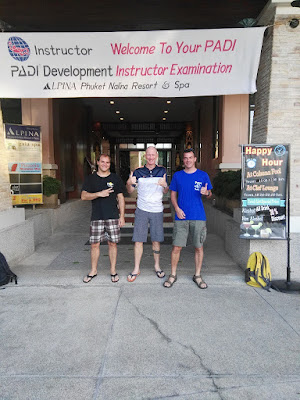 PADI IE for December 2017 on Phuket has been completed very successfully