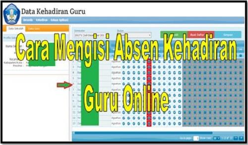Download Cara Mengisi Absen Kehadiran Guru Online